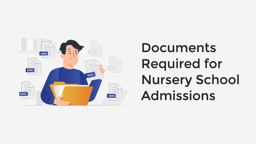 Delhi Nursery Admission Document Required