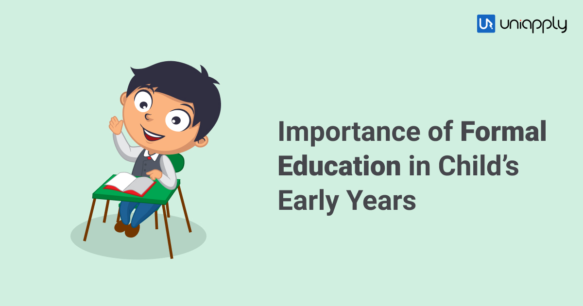 Importance of formal Education in Child's early years-1